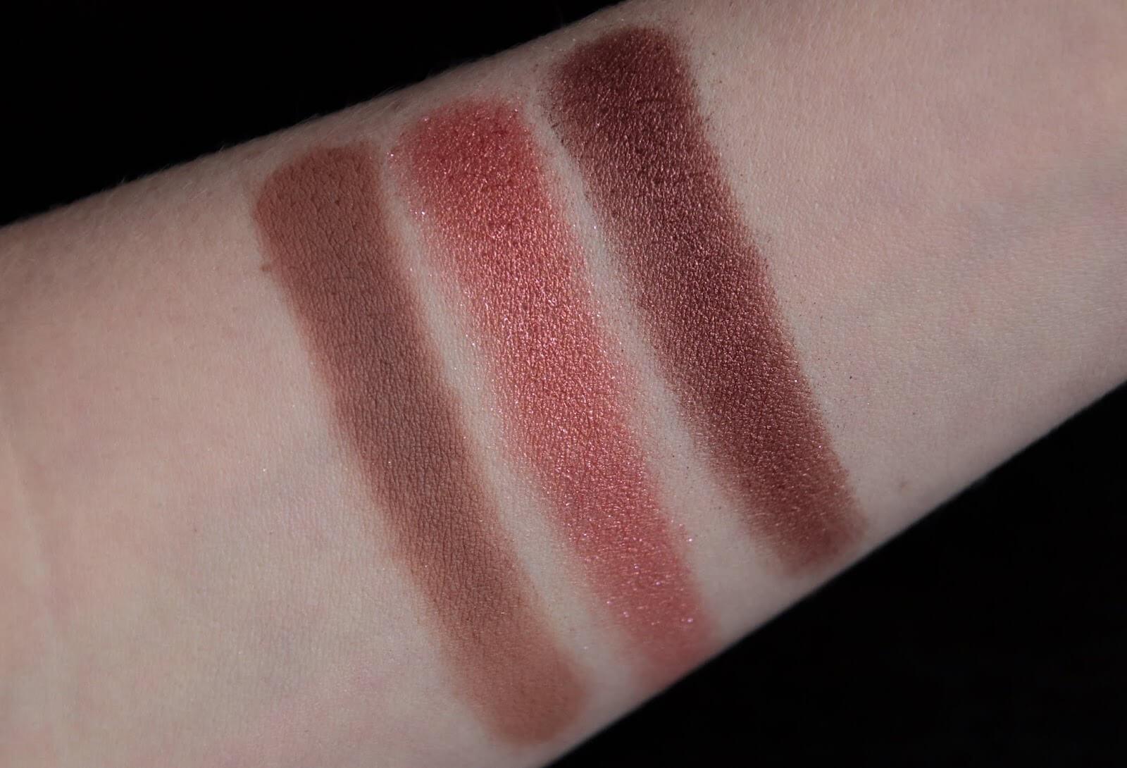 Fenty Beauty Snap Shadows 3 Deep Neutrals Swatch