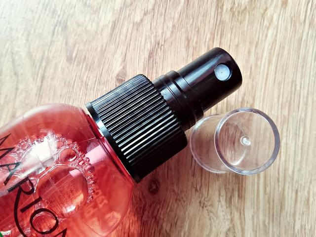 Marion, Nature Therapy - Spray regenerujący włosy, Ocet z malin & koktajl owocowy - Dla każdego rodzaju włosów, szczególnie wymagających wzmocnienia, otwarcie opakowania