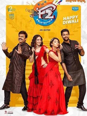 F2 Fun and Frustration 2019 Hindi Dubbed 720p HDRip 1GB