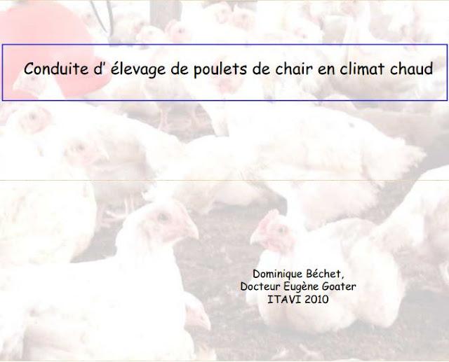 conduite d'élevage de poulets de chair en climat chaud - WWW.VETBOOKSTORE.COM
