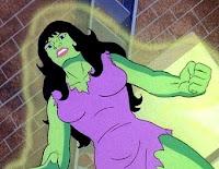 Hulka en la serie de dibujos animados de 1982