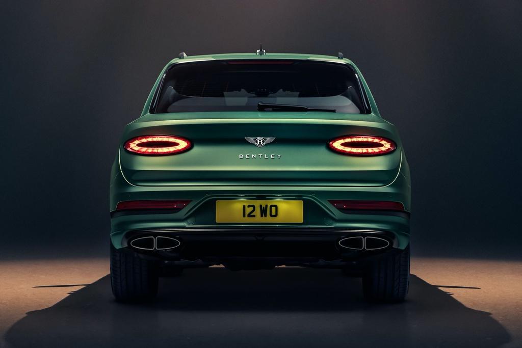 Bentley Bentayga 2021 ra mắt - nâng cấp thiết kế và công nghệ