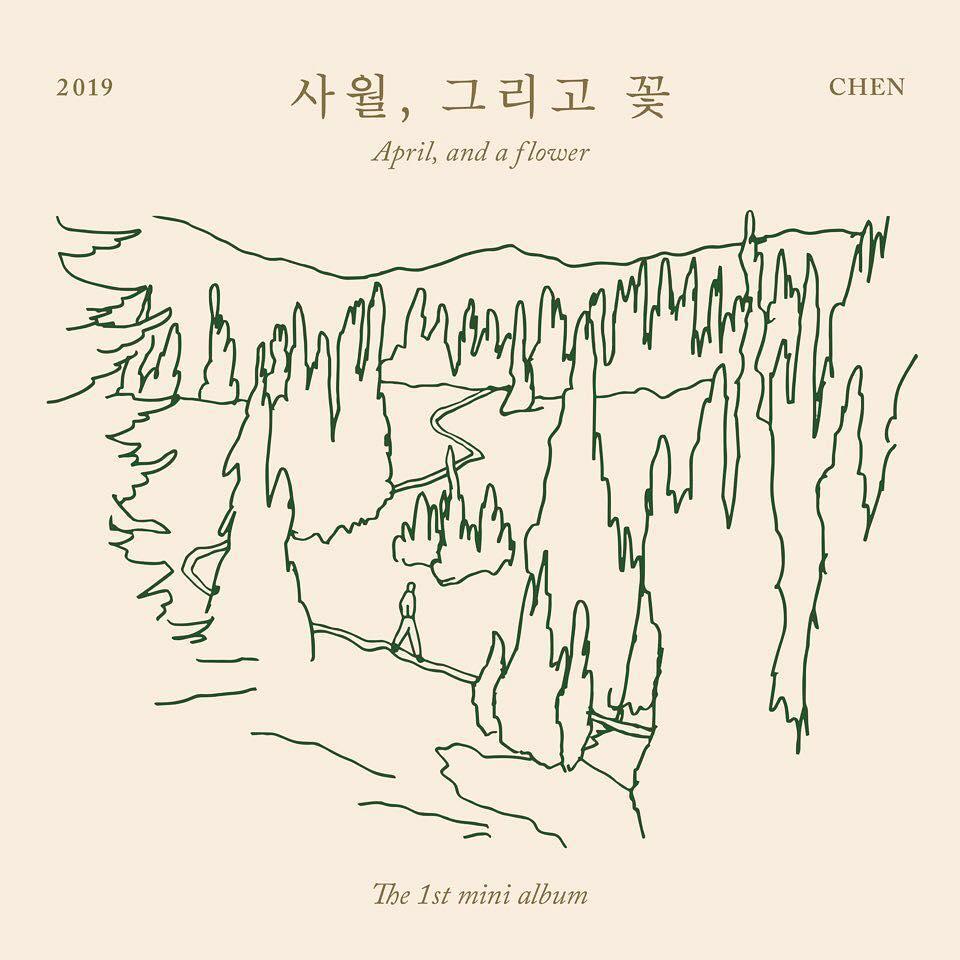 Mini Album Chen April And A Flower Itunes Plus Aac M4a