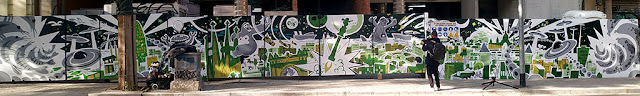 graffiti street art Barcelona futurista (futuro)