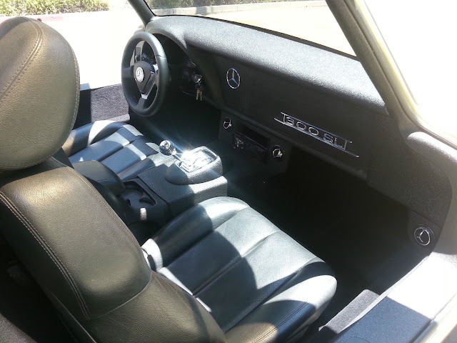 mercedes replica interior