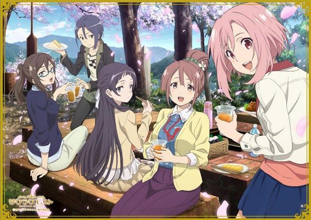 Download OST Opening Ending Anime Sakura Quest Full Version