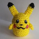 http://www.ravelry.com/patterns/library/pikachu-ball---pokemon