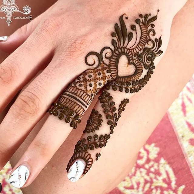 mehndi designs for hands step by step arabic for beginners