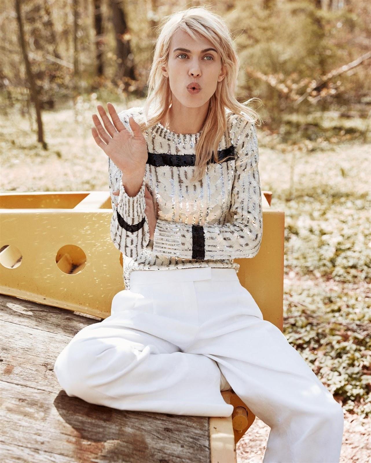 Cass Bird: Aymeline Valade By Cass Bird For Vogue Korea June 2015