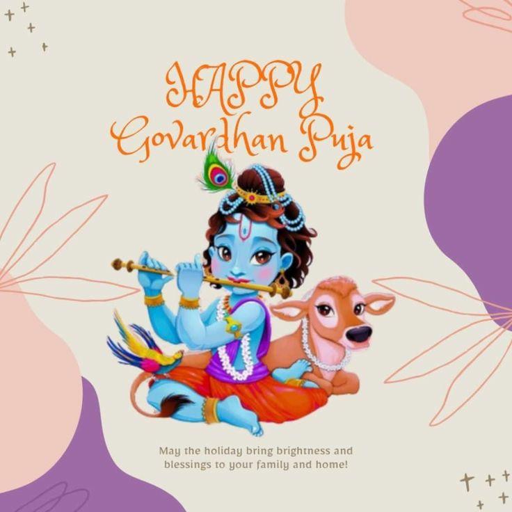 happy govardhan puja image download