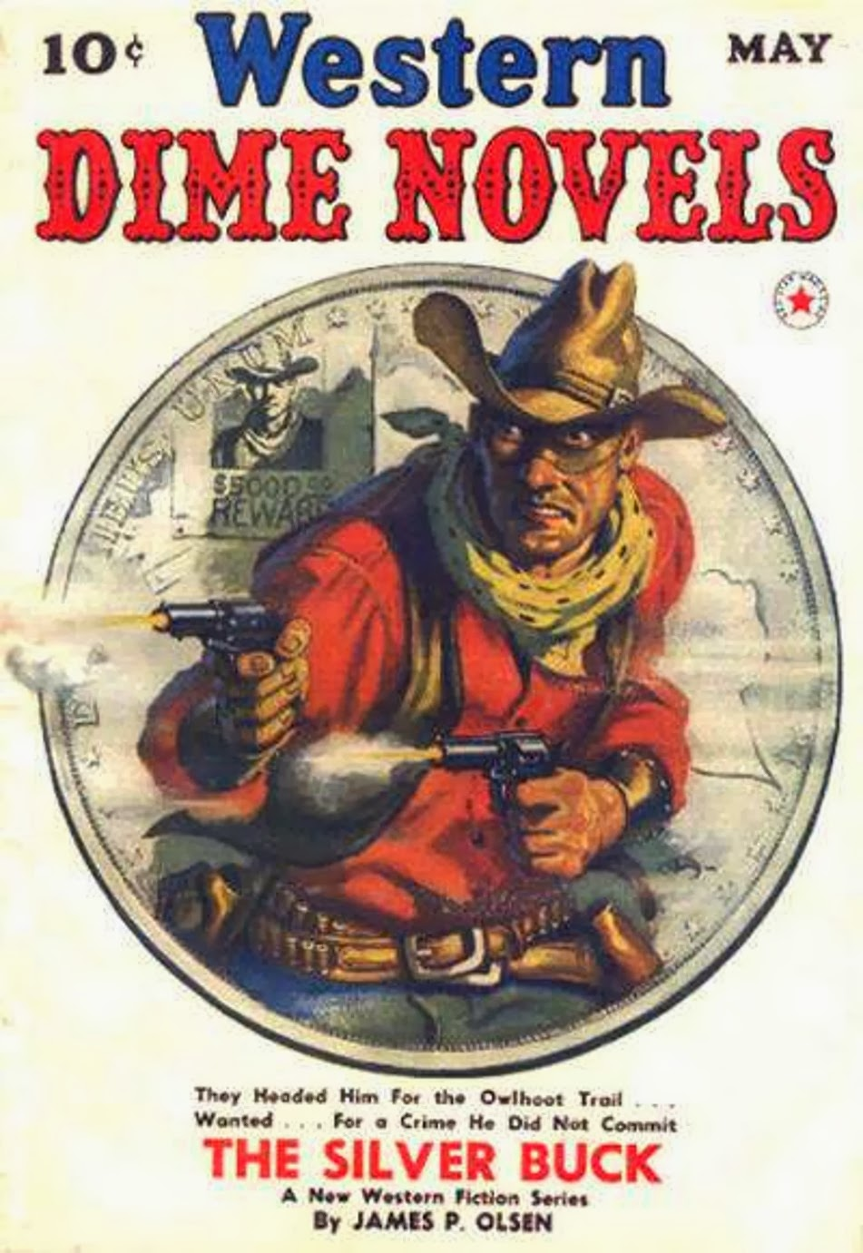 Rough Edges: Saturday Morning Western Pulp: Western Dime