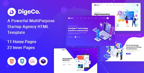 Best Startup Agency HTML Template
