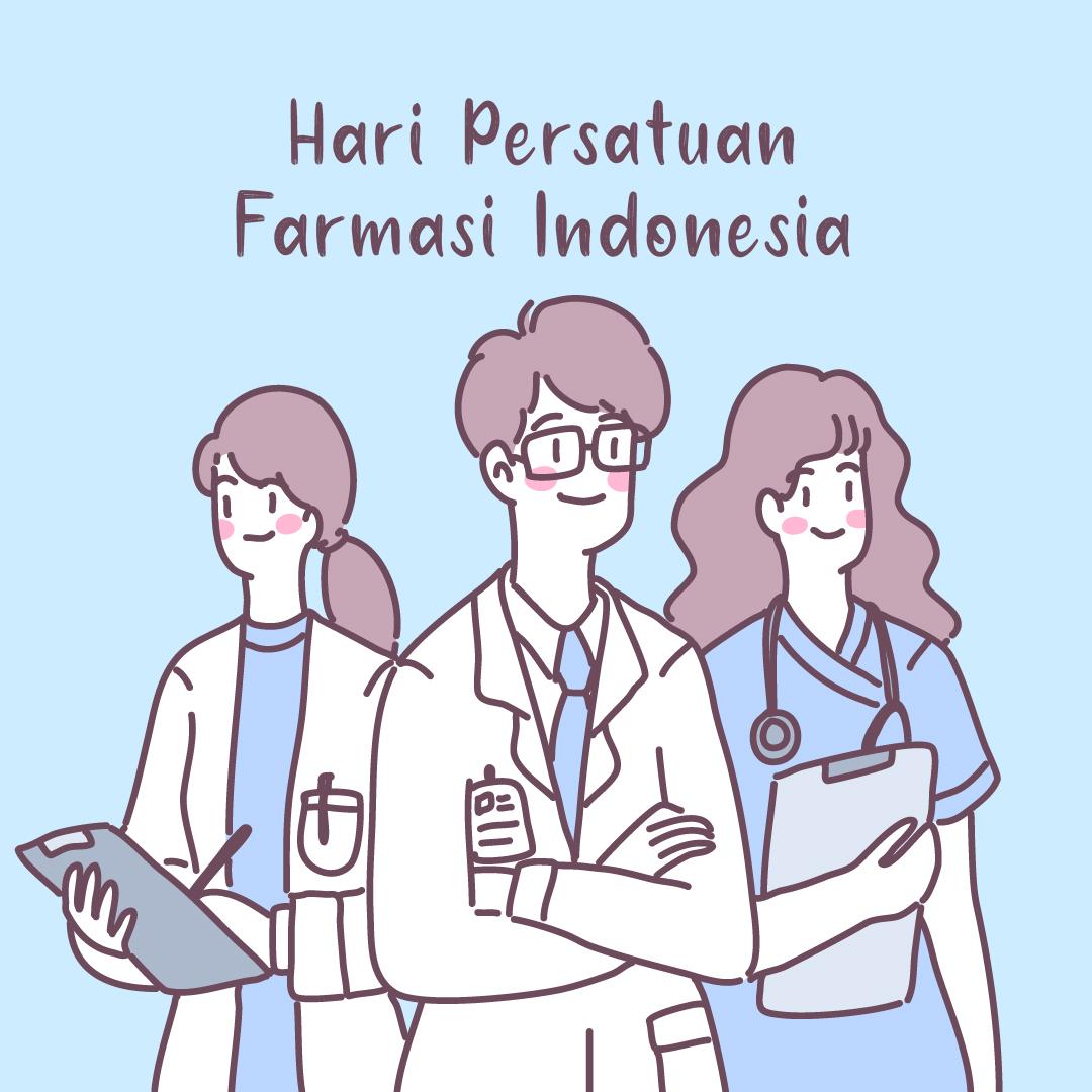 Kumpulan Gambar Desain Template Hari Persatuan Farmasi Indonesia 2021