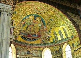 Arco triunfale Sta Maior - A técnica dos mosaicos medievais