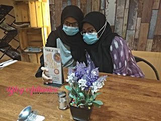 Double celebration birthday Nurin & Syuhada di Cofeology Cafe & Restaurant, Bukit Beruang