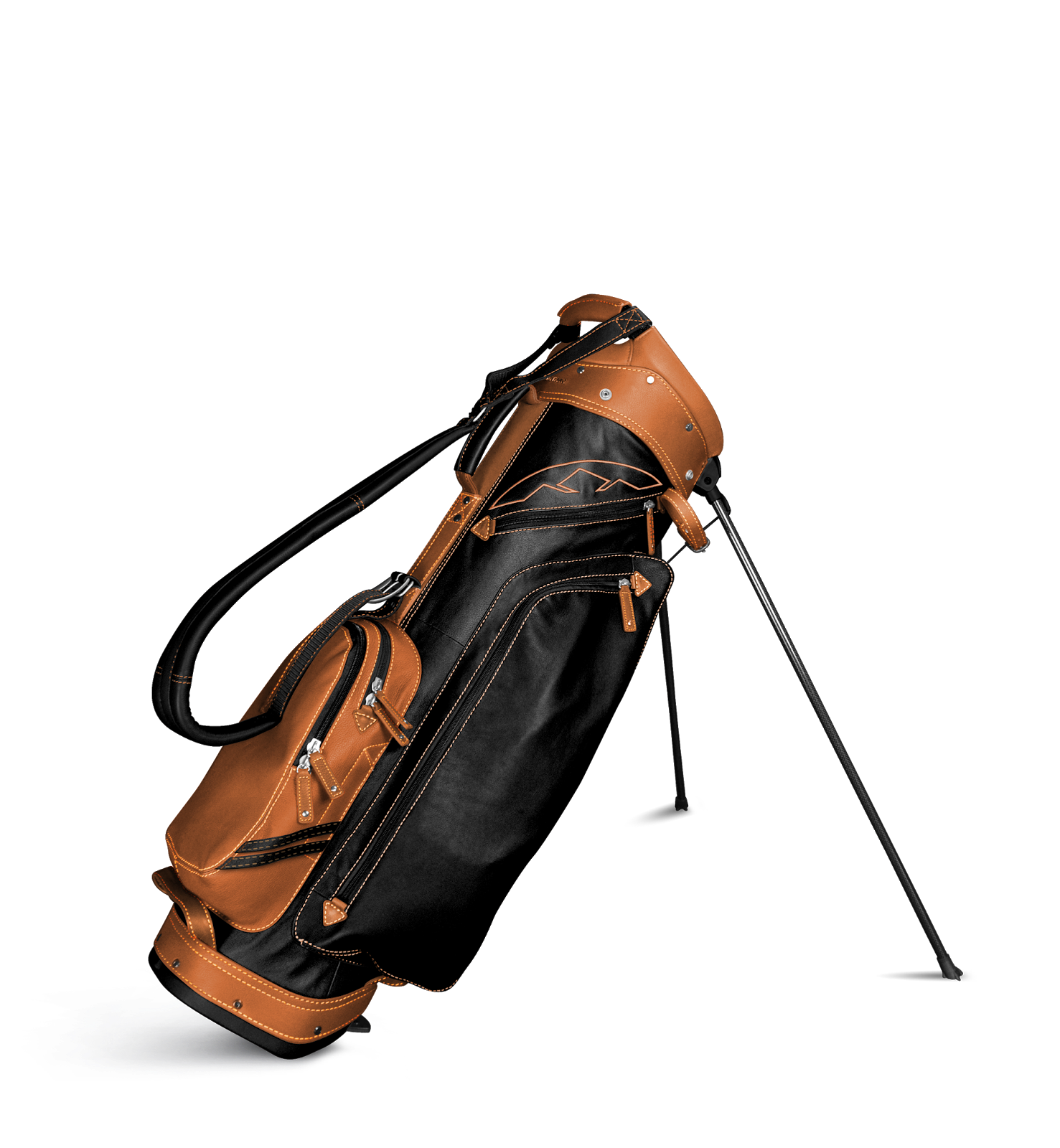 American Golfer Leather Up With Sun Mountain Leather
