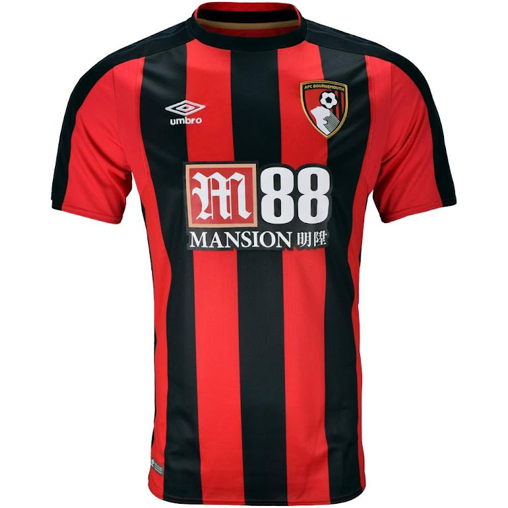 6d80c610b 2017-2018 Premier League Kit Overview. AFC Bournemouth. +2. 3 of 3. 1 of 3