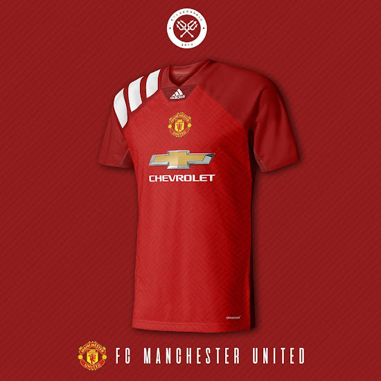 Stunning Manchester United 18-19 Home, Away and Third ...