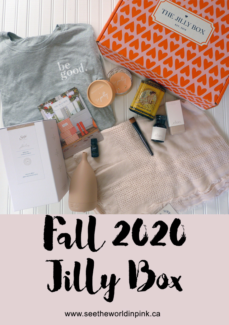 Fall 2020 - The Jilly Box Subscription Unboxing