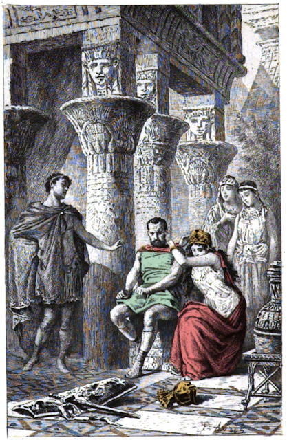 Antony and Cleopatra: A one sided love story?