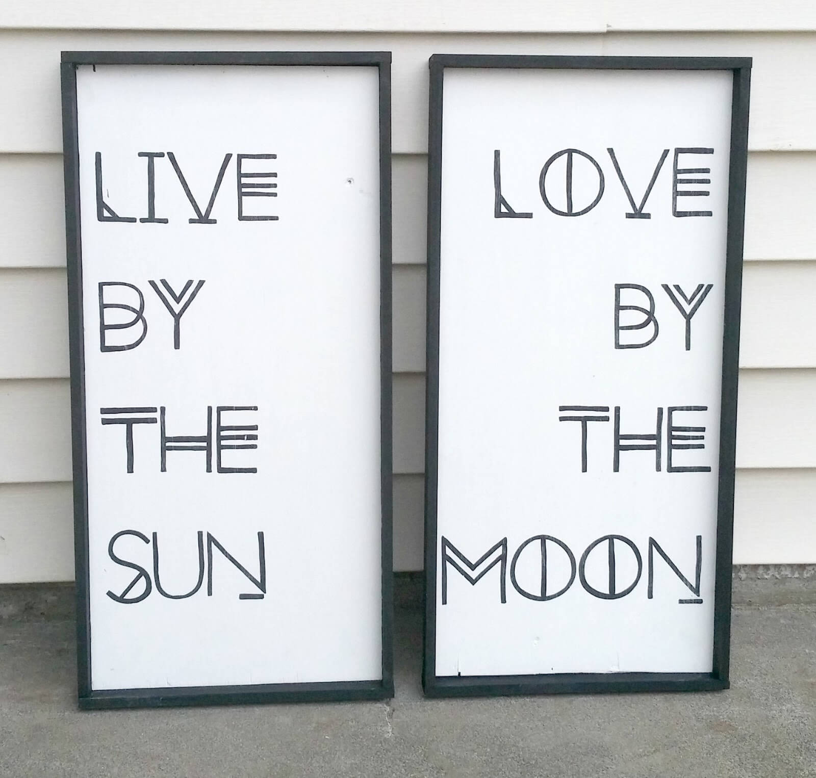 DIY Inspirational Quote Sign