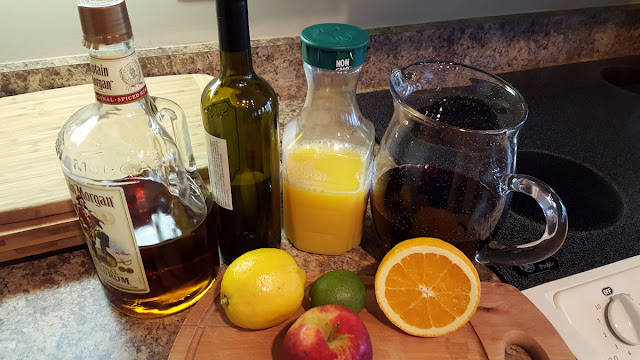 The Red Wine Sangria Ingredients