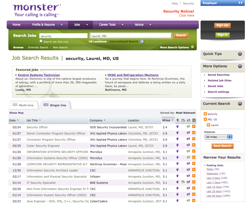best job search sites for your better career allupdates monster com best job search engines job search sites usa job