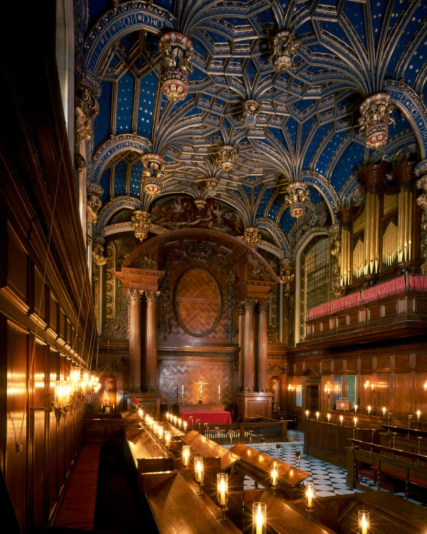 chapel royal hampton court palace