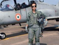 Mohana Singh Becomes 1st Woman To Fly Hawk Jet