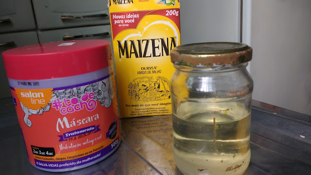 Produtos para a Hidratação de maizena com óleo de coco! Blog Insaturada