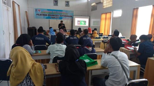 Kuatkan SDM Organisasi, Disparpora Payakumbuh Gelar Pelatihan Bagi Pemuda