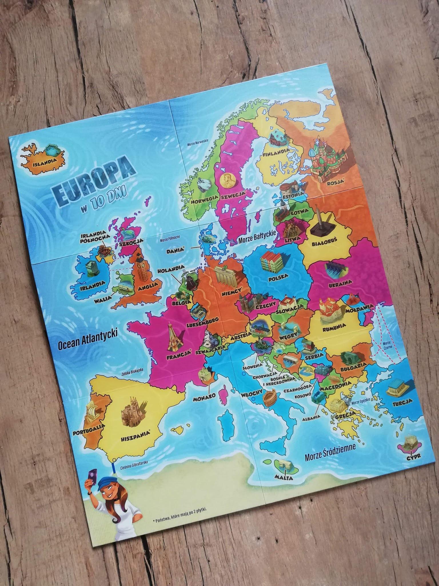 Recenzja gry planszowej Europa w 10 dni