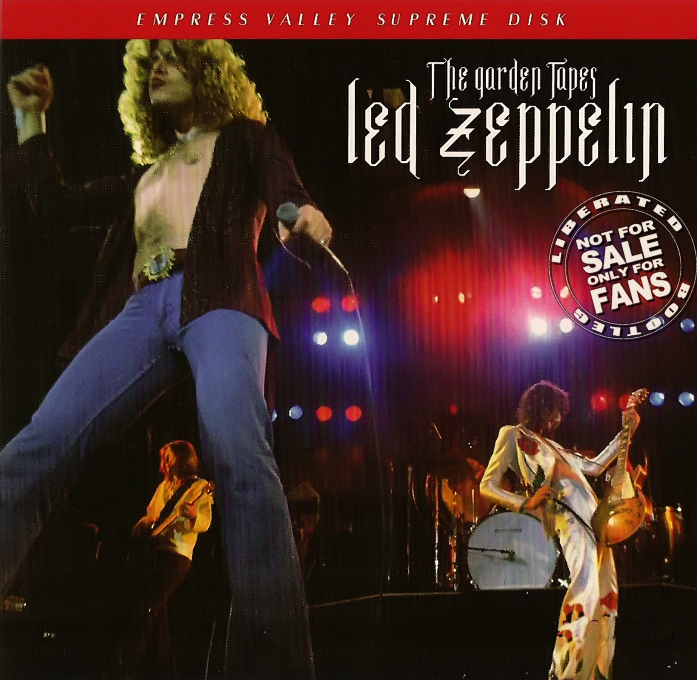1977 - Led Zeppelin - The Garden Tapes - New York