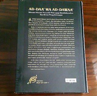 Buku Penyakit Dan Obatnya Menurut Dalil - dalil Syar'i | Ad Daa' Wa Ad da waa'