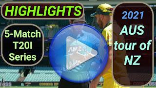 New Zealand vs Australia T20I Series 2021