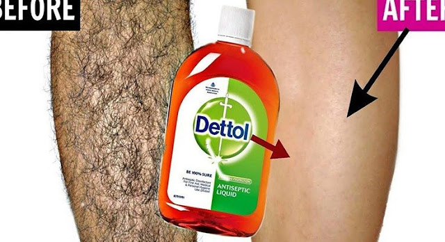 Apply only half a teaspoon of unwanted hair will end forever from the root.