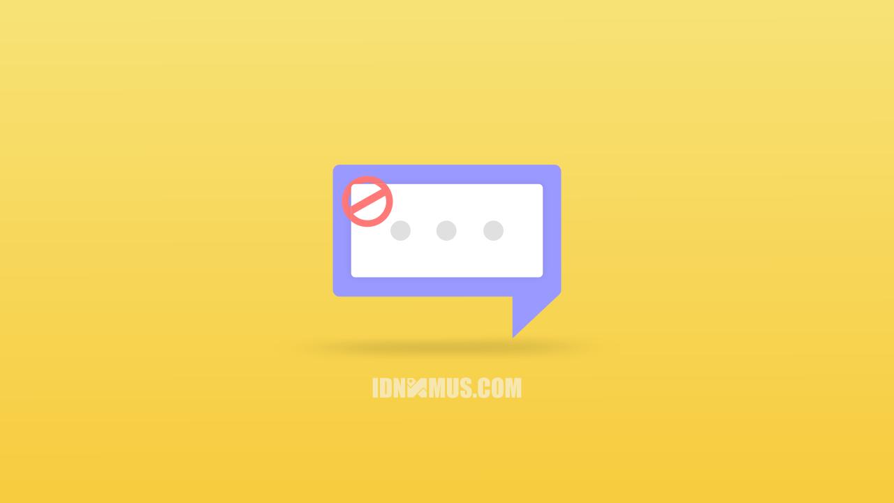 Blokir SMS Penipuan