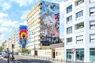 Sunday Street Art : Seth et Faile - Parcours Street Art 13 - rue Jeanne d'Arc - Paris 13