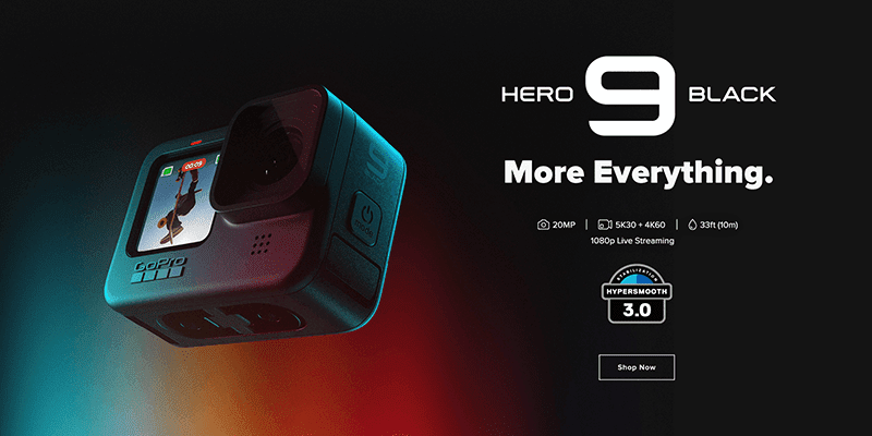 GoPro HERO9 Black with 5K video recording launches in PH, priced at PHP 26,490