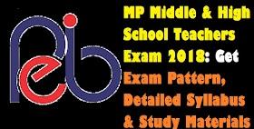 MP Middle & High School Teachers Exam 2018: Get Detailed Exam Pattern, Syllabus & Study Materials