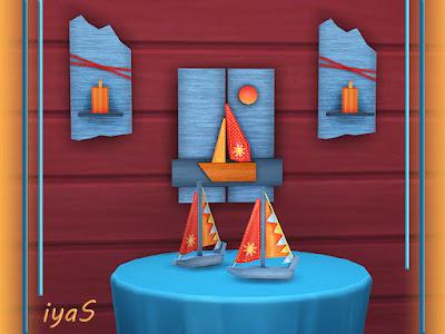 See the Sea set Посмотри на море для The Sims 4 Пусть этот набор ручной работы напомнит вам о морских путешествиях. 4 варианта Включает в себя небольшой корабль, декор стен корабля и свечах. Автор: soloriya