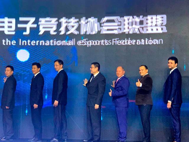 Deputado Coronel Chrisostomo representa o Brasil em Conferência Internacional E-Sports na China