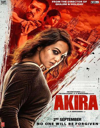 Poster Of Akira 2016 Hindi  300MB    Watch Online Free Download 300mb.cc