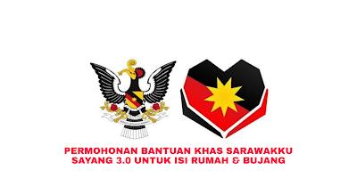 Permohonan Bantuan Khas Sarawakku Sayang 3.0 Untuk Isi Rumah & Bujang RM500