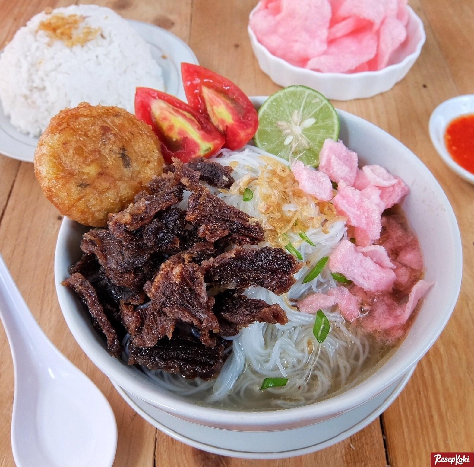 makanan khas padang bikin laper soto padang  mendunia Resepi Kentang Goreng Kunyit Enak dan Mudah