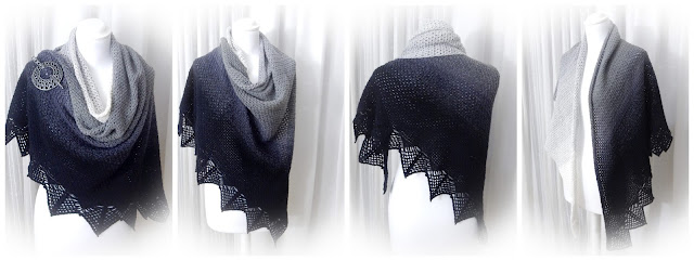 the curio crafts room thecuriocraftsroom Lunation Shawl crochet pattern wrap