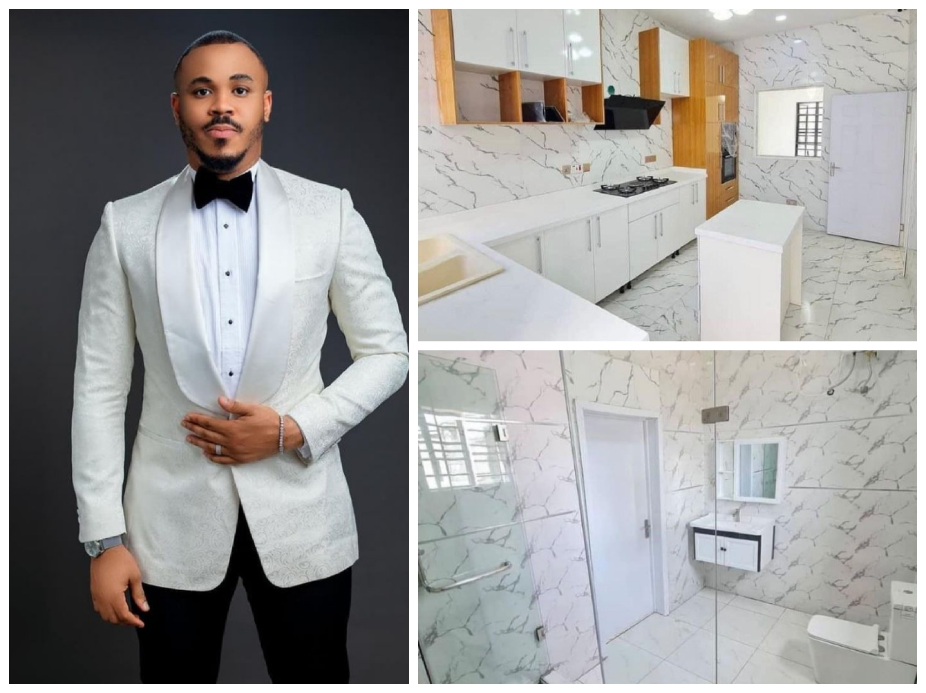 Check Out The House Fans Bought For Bbnaija Ozo As Birthday Gift