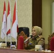 Bupati Faida Jadi Narsum di Wibenar Bertema Kepala Daerah di Era Wabah Pandemi Covid-19