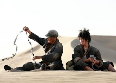 Yi Zhang (fugitivo) y Liu Haocun (vagabunda)