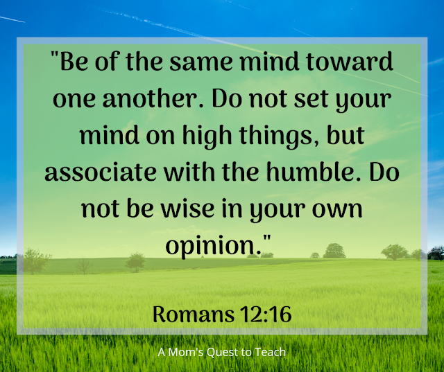 Romans 12:16 quote